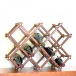 vintage Wooden Wine Racks