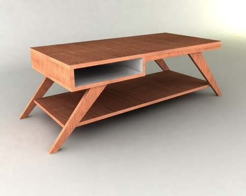 Picture of: vintage mid century modern coffee table