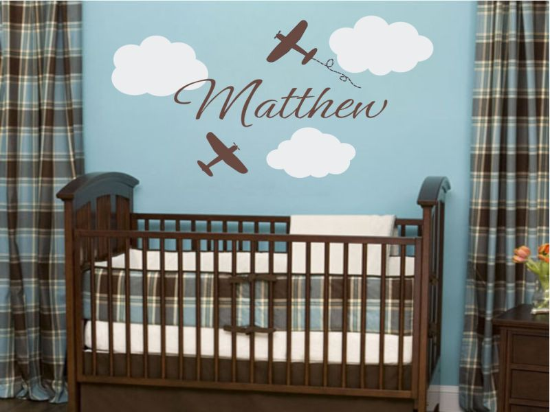 Picture of: Airplane Nursery Attractive