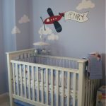 Airplane Nursery Baby Room