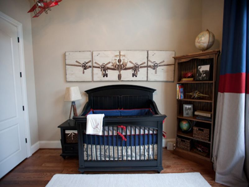 Picture of: Airplane Nursery Cool