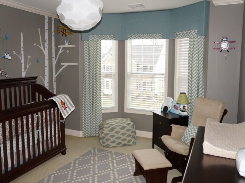 Picture of: Airplane Nursery Modern Design