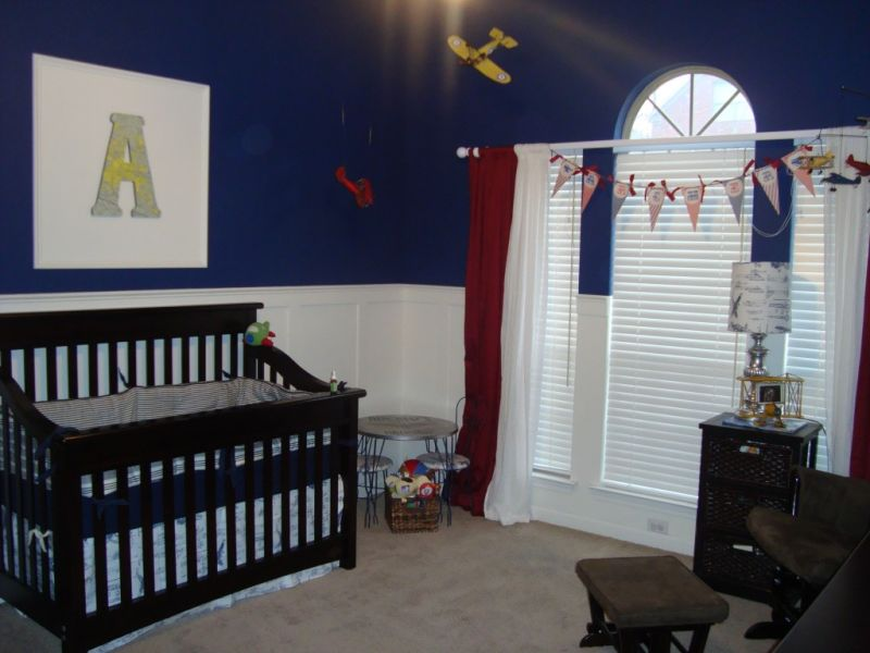 Picture of: Airplane Nursery for Boy