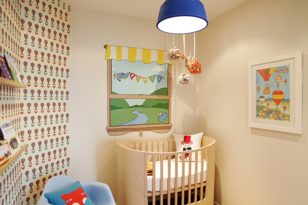Picture of: Alice in Wonderland Nursery Design
