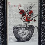 Alice in Wonderland Nursery Print