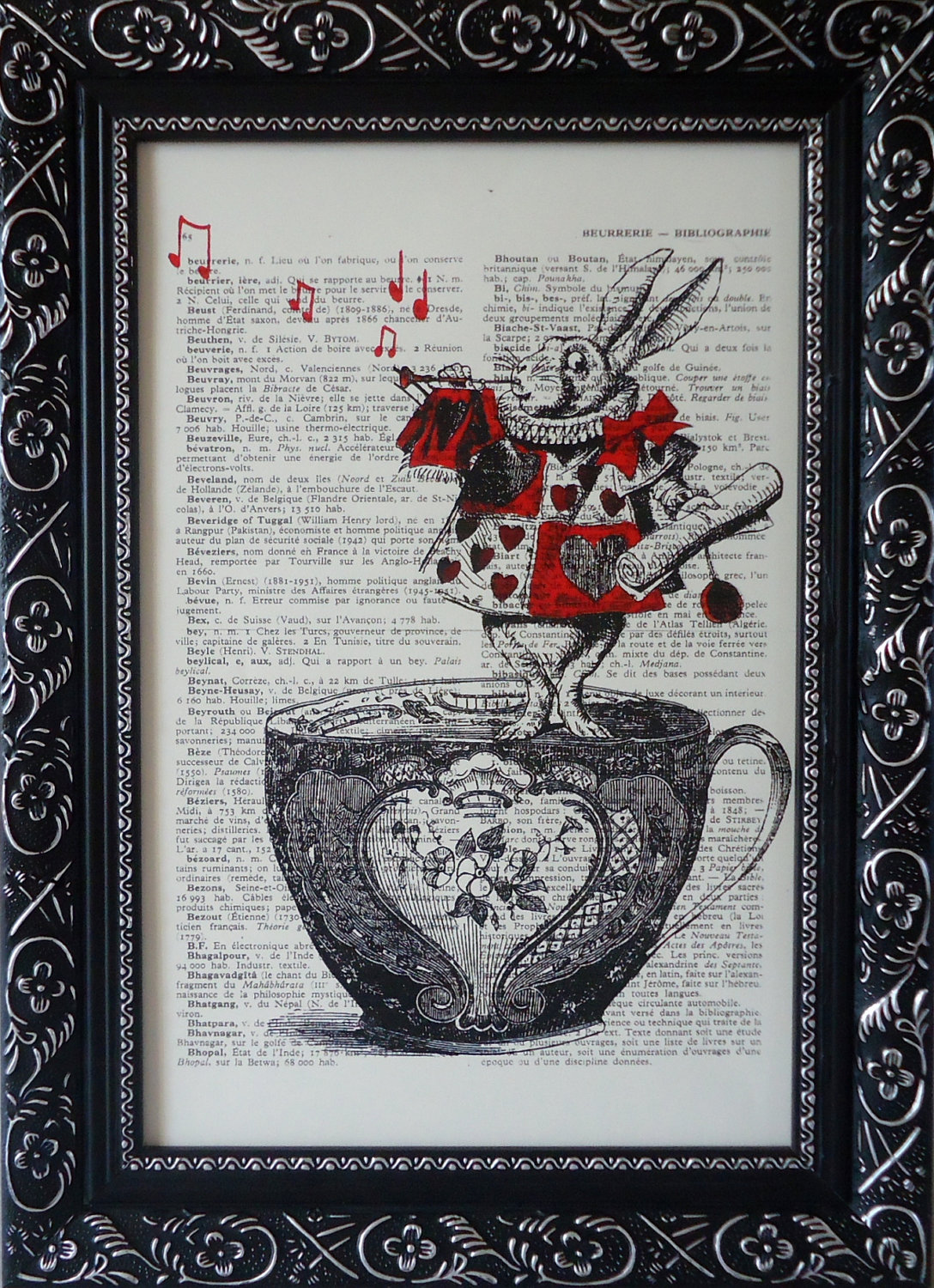 Picture of: Alice in Wonderland Nursery Print