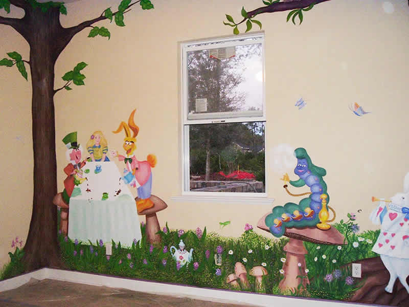 Picture of: Alice in Wonderland Nursery