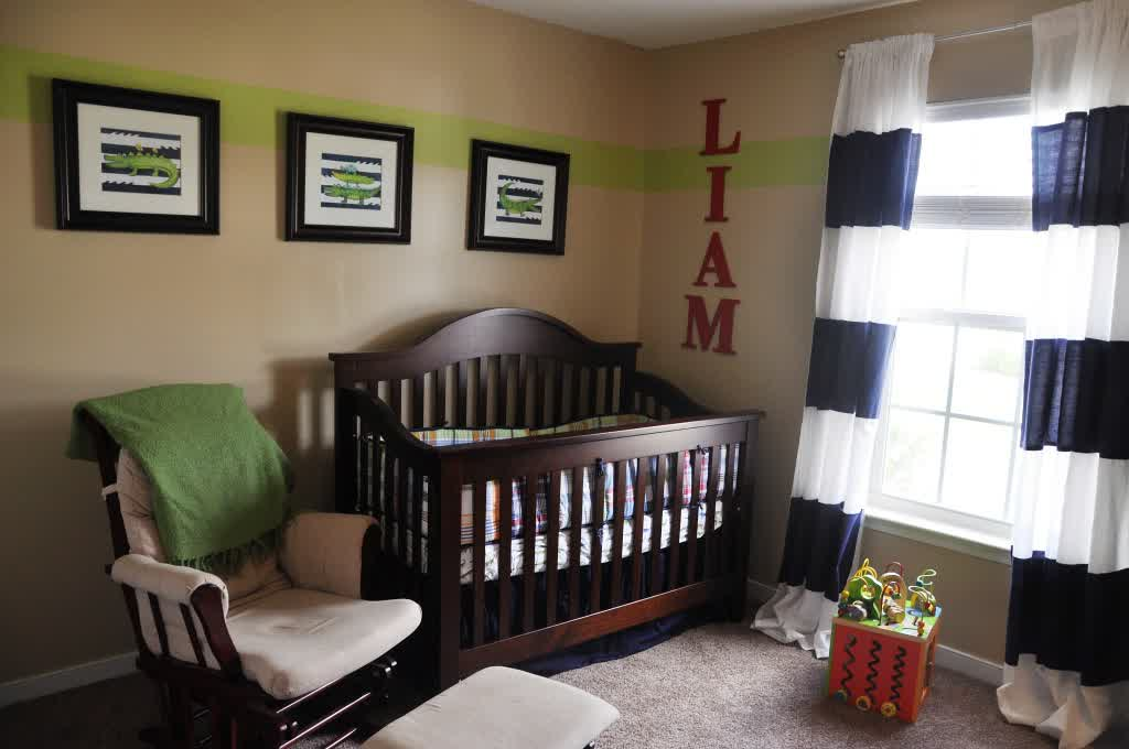 Picture of: Alligator Nursery Decor In The House home