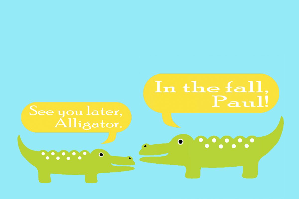 Alligator Nursery Decor In The House roll