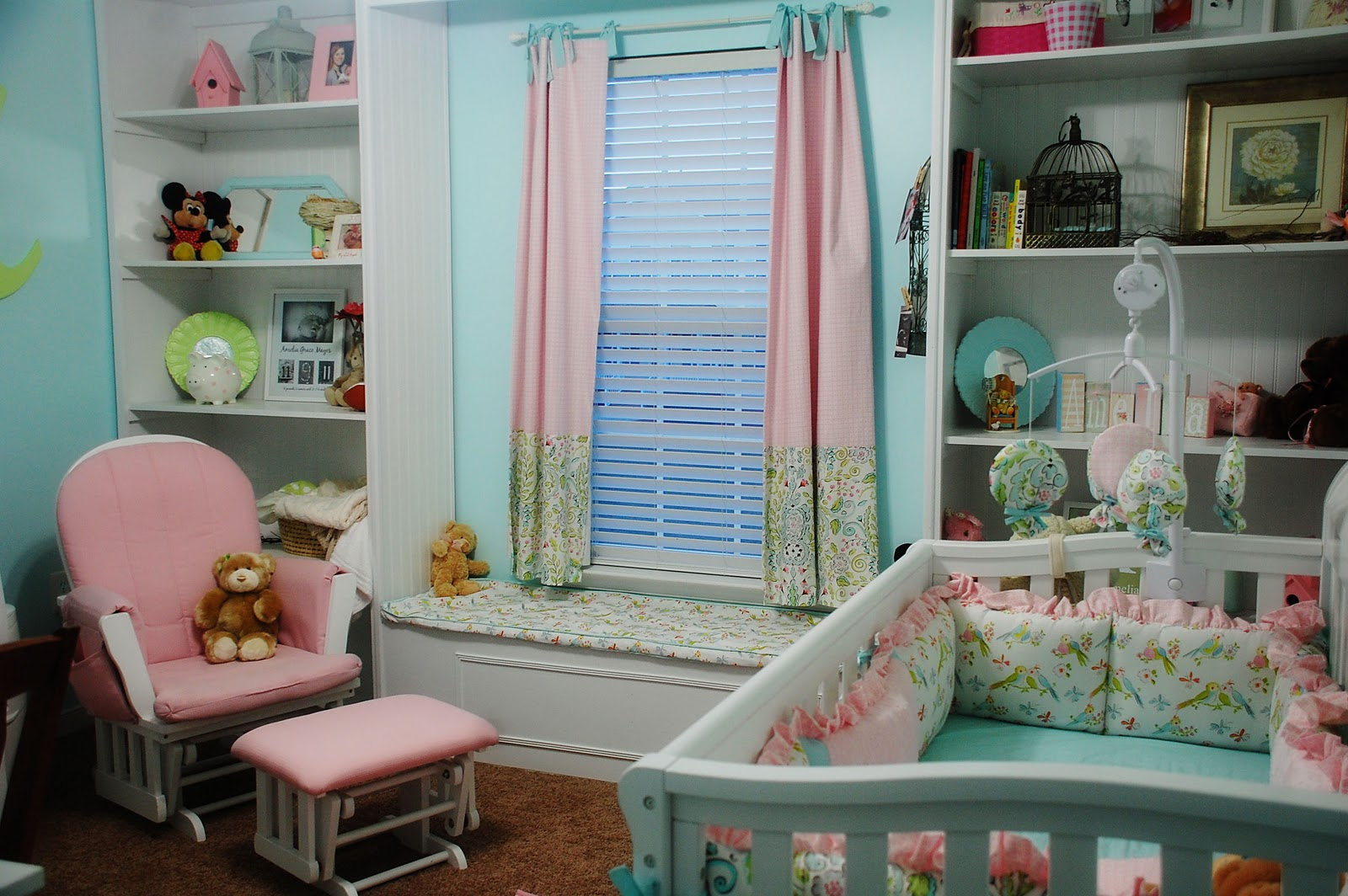 Image of: Amazing Blackout Curtains Nursery