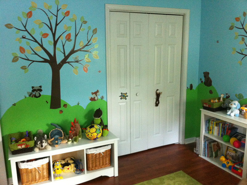 Amazing Forest Themed Nursery
