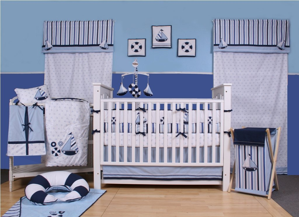 Picture of: Amazing Nautical Nursery Decor