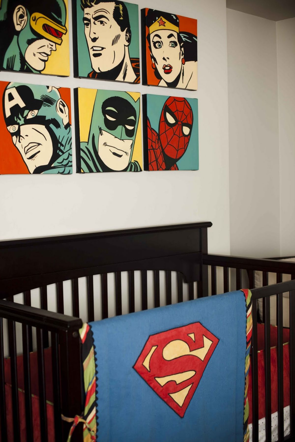 Picture of: Amazing Superhero Nursery