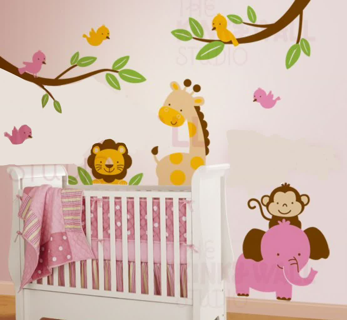Amazing Wall Decals for Nursery