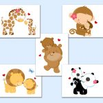 Animal Prints For Nursery Decals Baby