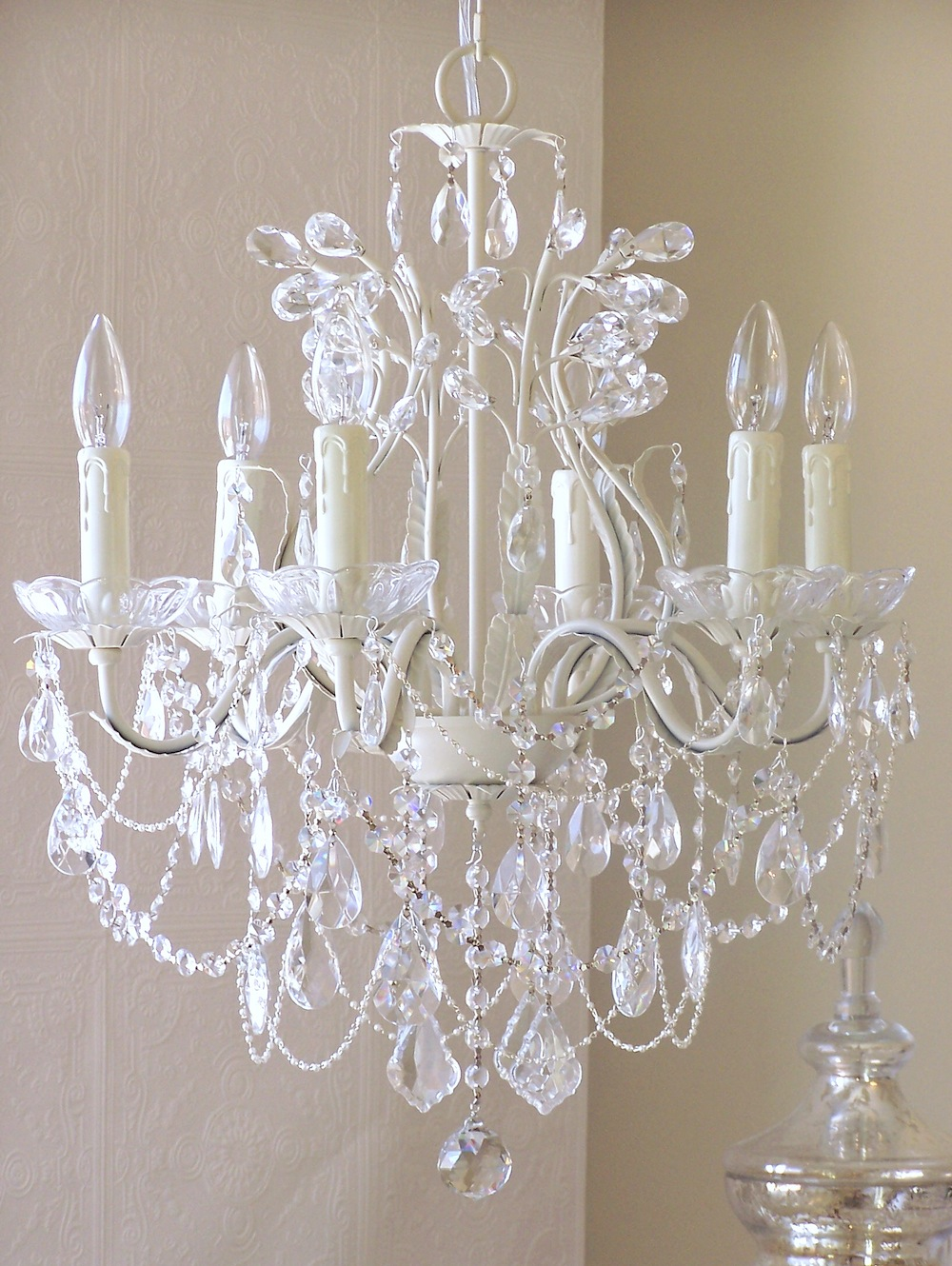 Picture of: Antique Nursery Chandelier