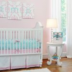 Aqua and Pink Nursery Color
