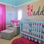 Aqua and Pink Nursery Ideas