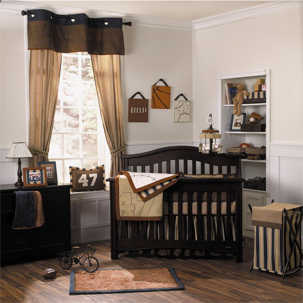 Baseball Nursery Bedding Decorating Oz Visuals Design