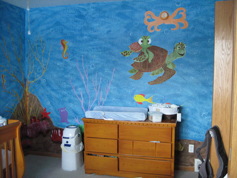 Picture of: Awesome Finding Nemo Nursery