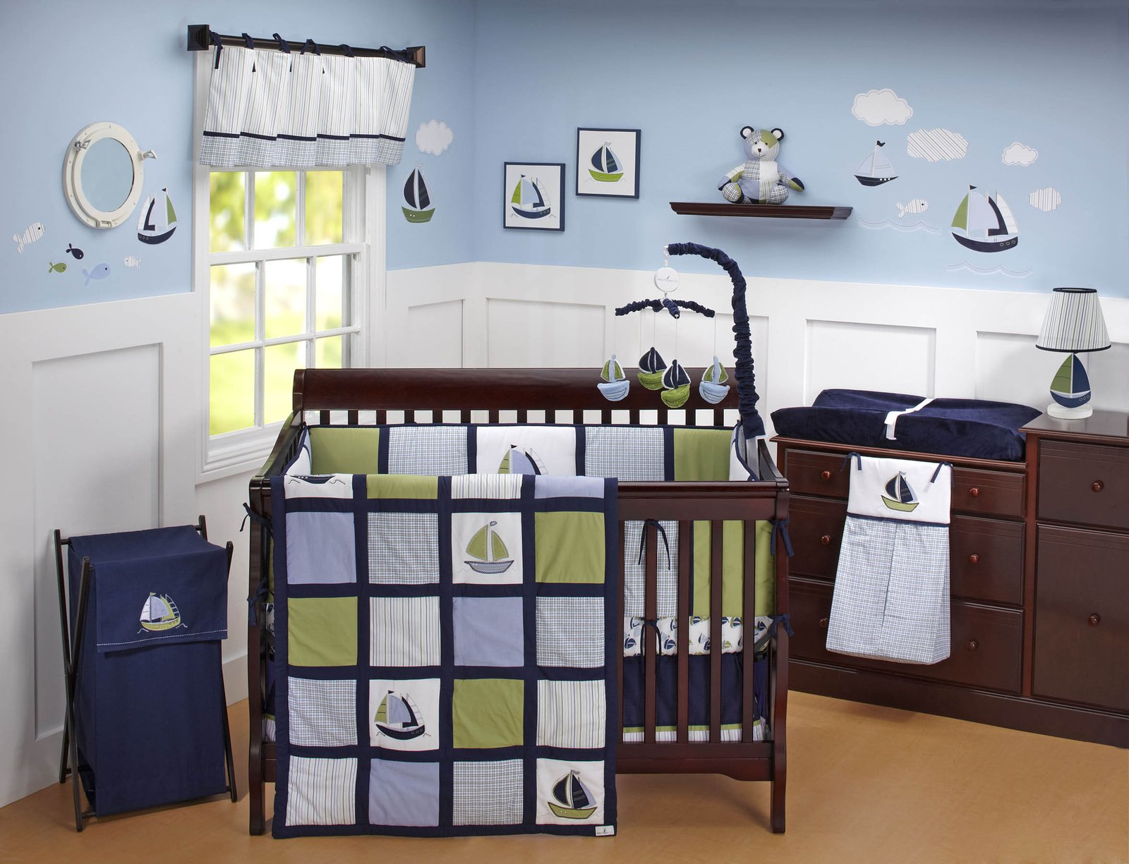 Awesome Nautical Nursery Bedding