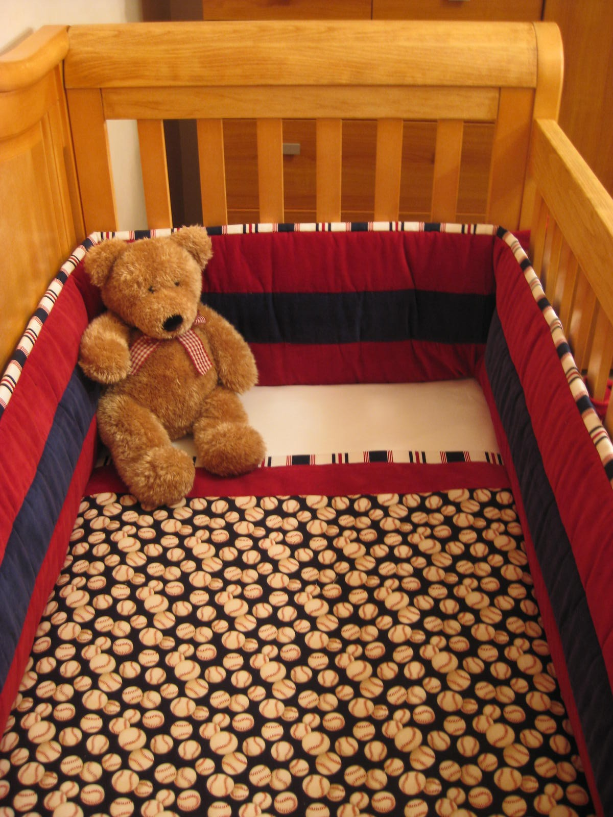 Picture of: Baby Baseball Nursery Bedding