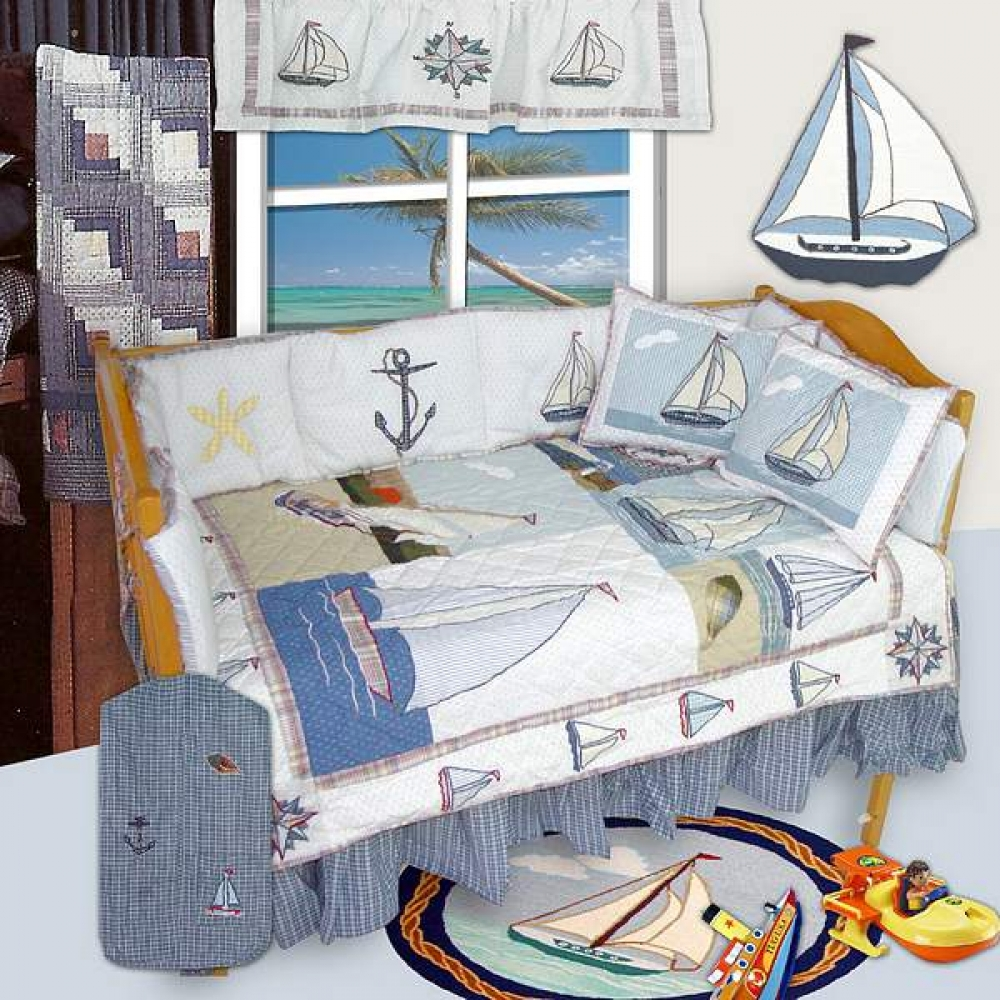 Picture of: Baby Boy Nautical Themed Nursery