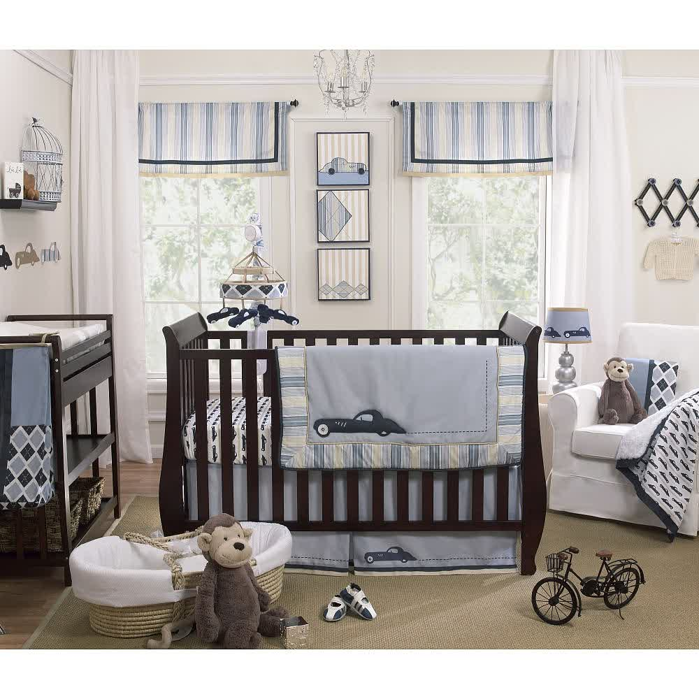Picture of: Baby Boy Nursery Bedding Ideas