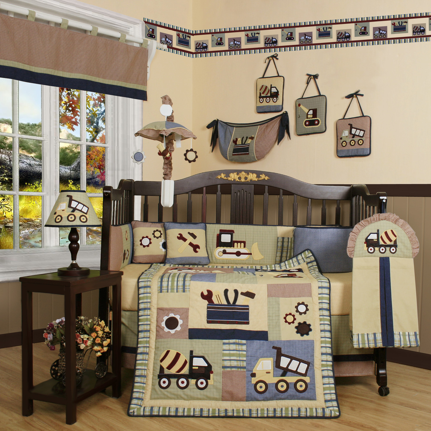 Picture of: Baby Boy Nursery Bedding sets