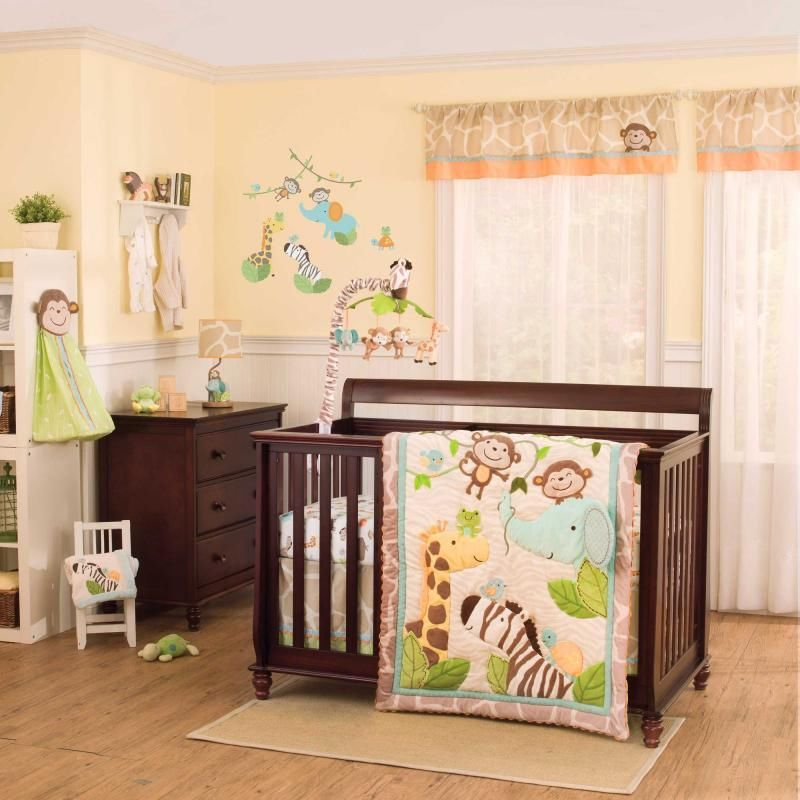 Baby Elephant Nursery Bedding