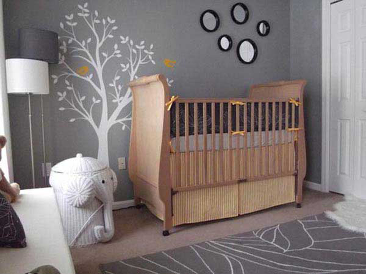 Picture of: Baby Elephant Nursery Room Ideas