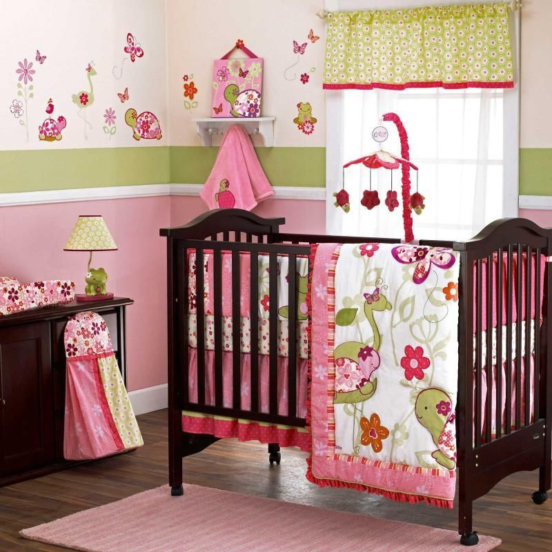 Picture of: Baby Girl Nursery Bedding Picture Ideas