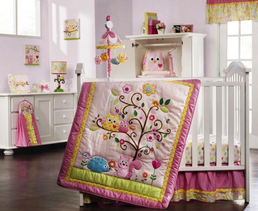 Image of: Baby Girl Nursery Themes 2015
