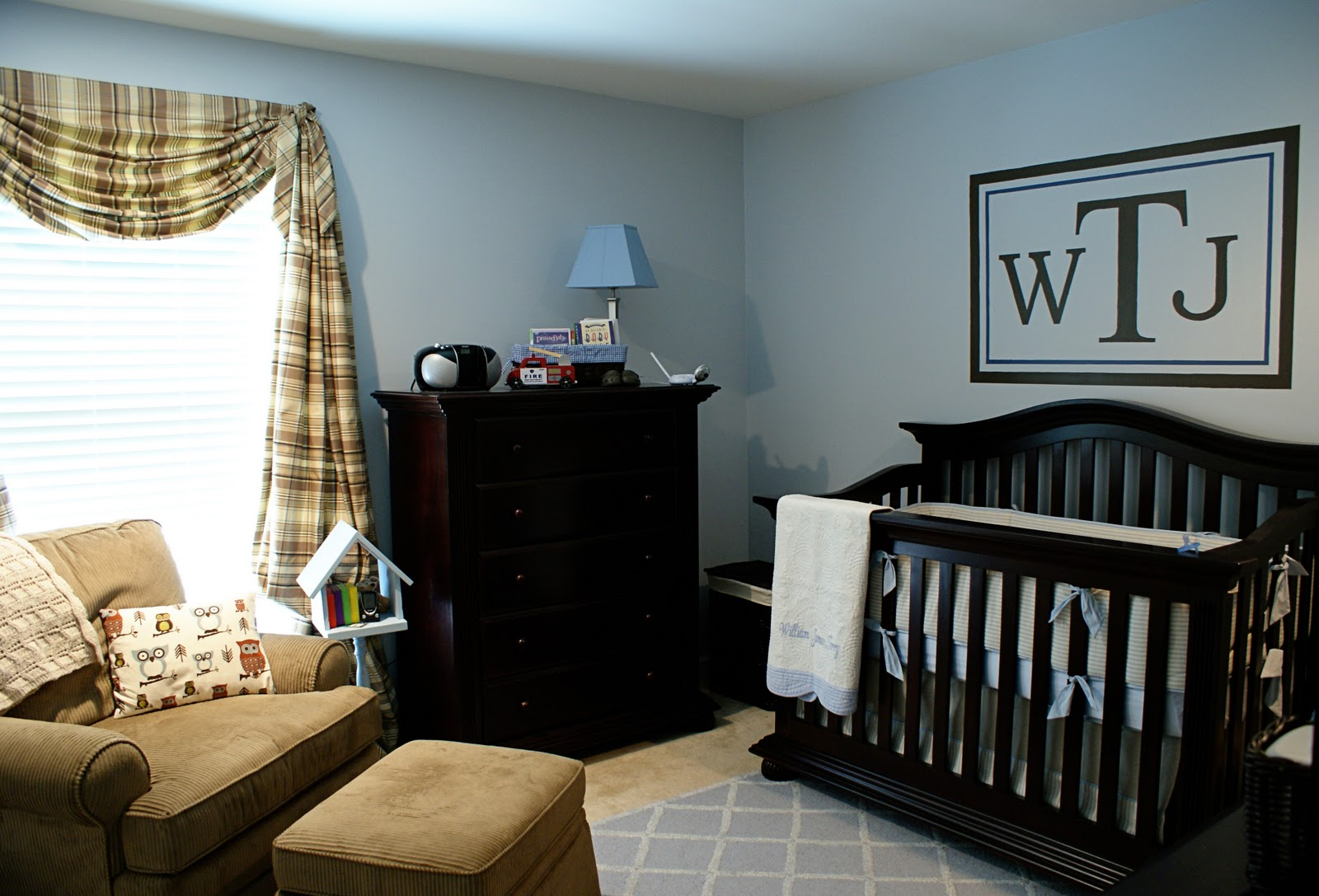 Image of: Baby Nursery Furniture Sets blue