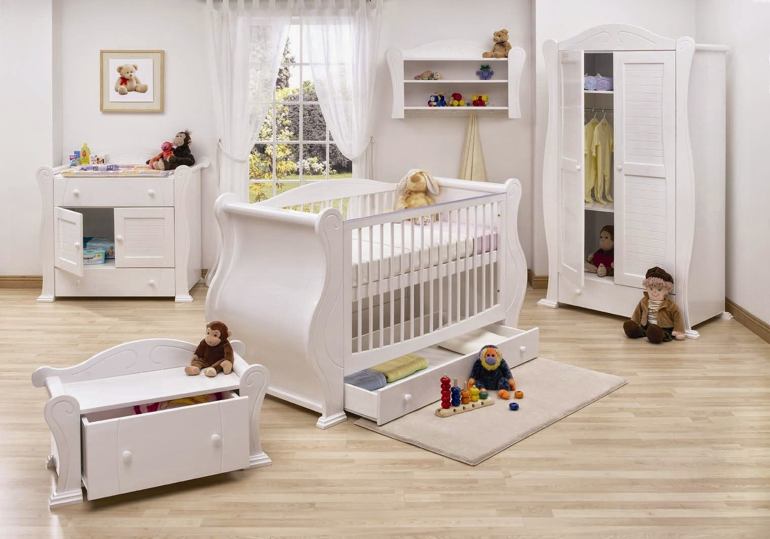 Image of: Baby Nursery Furniture Sets clam