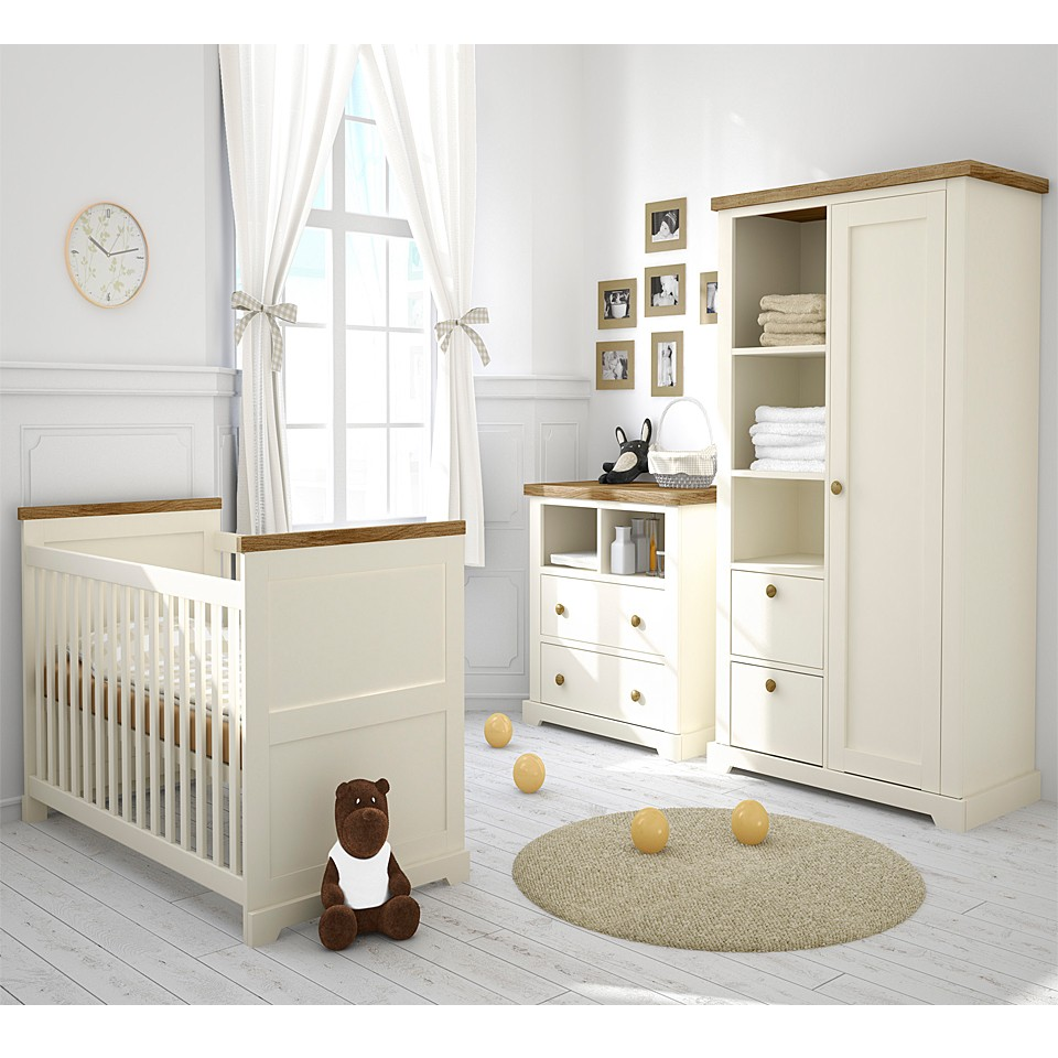 Image of: Baby Nursery Furniture Sets tall