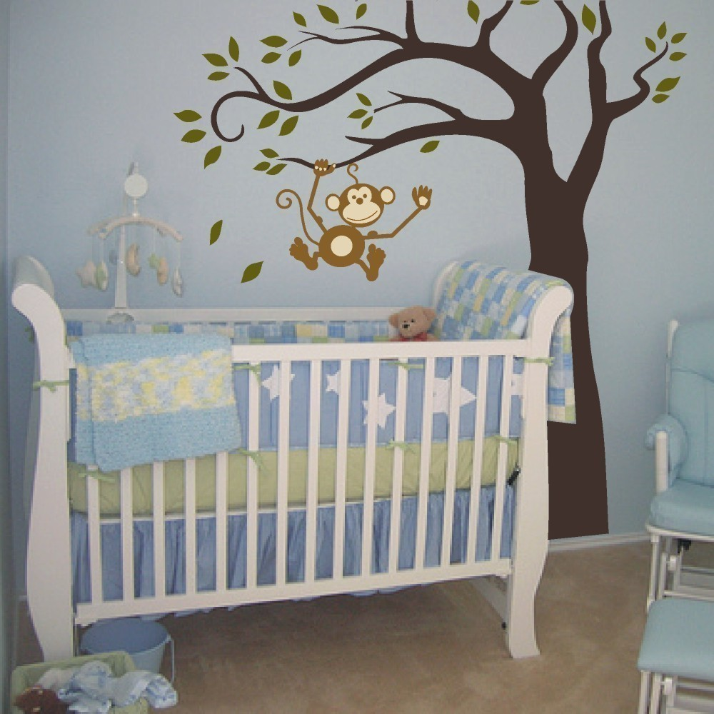 Baby Room Monkey Nursery Decor