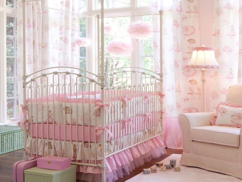 Image of: Ballerina Nursery Bedroom