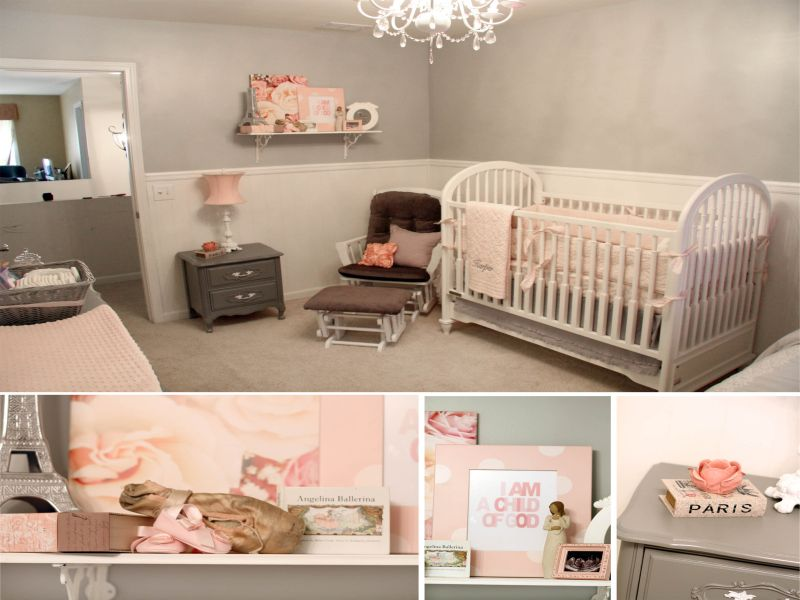 Image of: Ballerina Nursery Design
