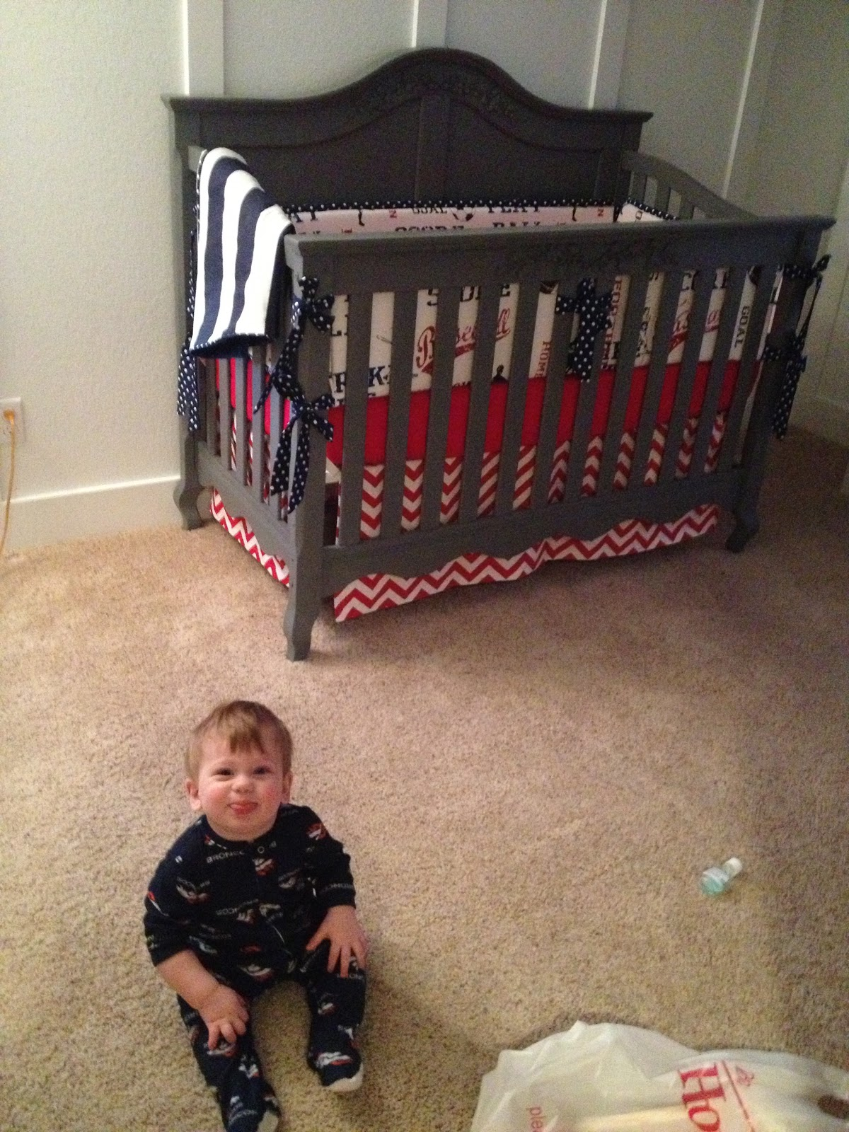 Picture of: Baseball Nursery Bedding Inspiration