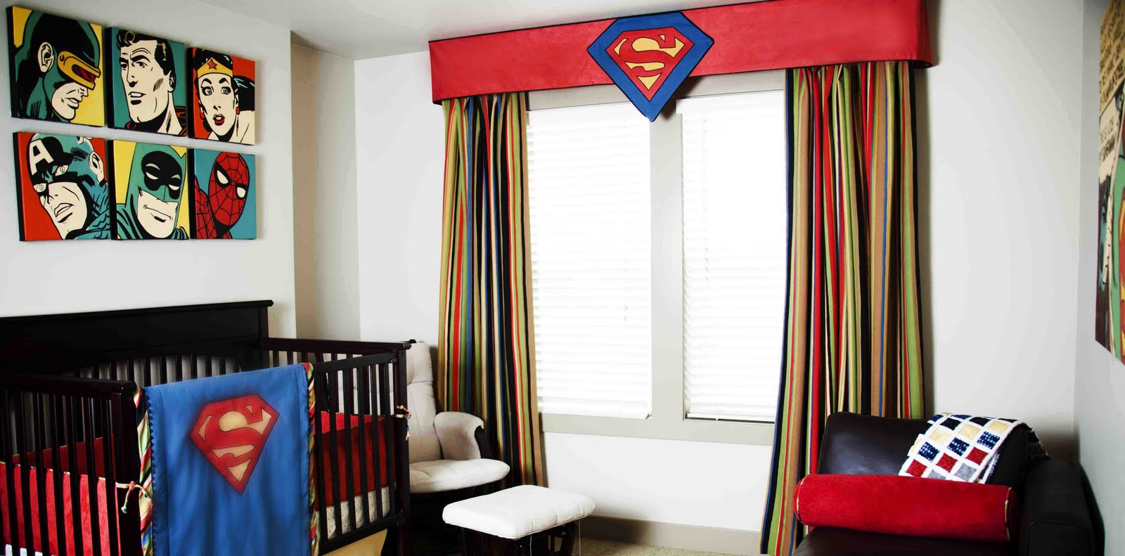 Picture of: Batman Nursery Bedding Decor Ideas Pinterset