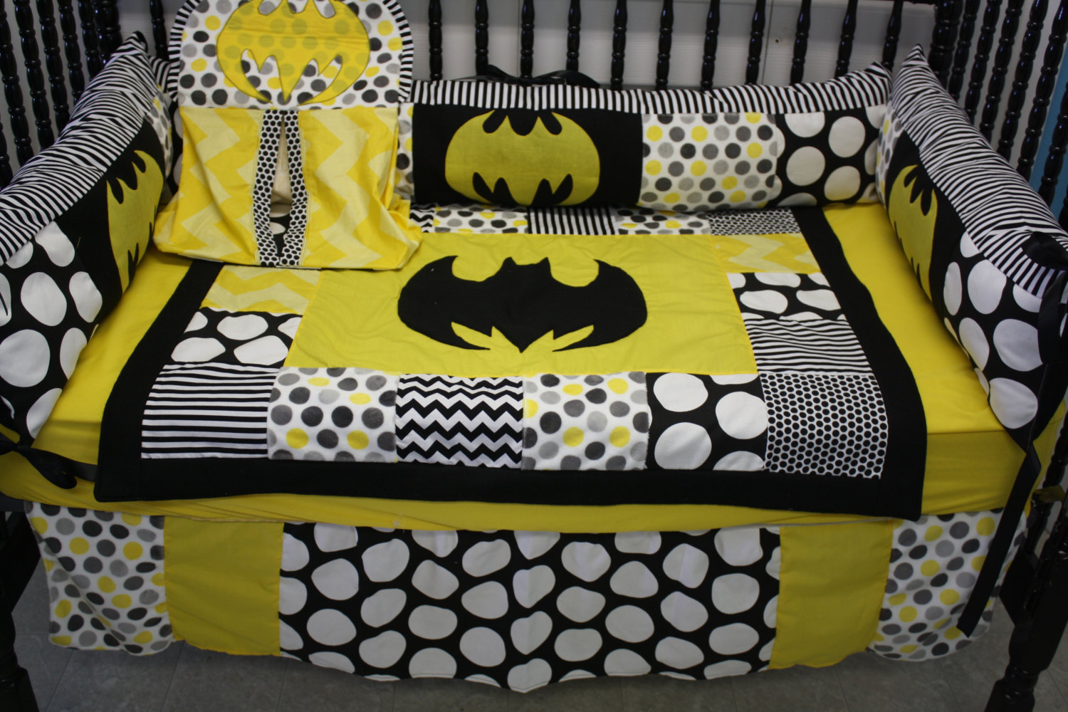 Picture of: Batman Nursery Bedding Ideas