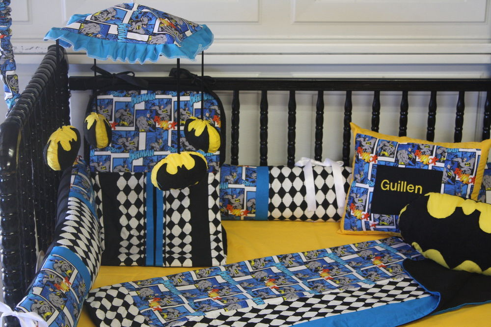 Picture of: Batman Nursery Bedding Set