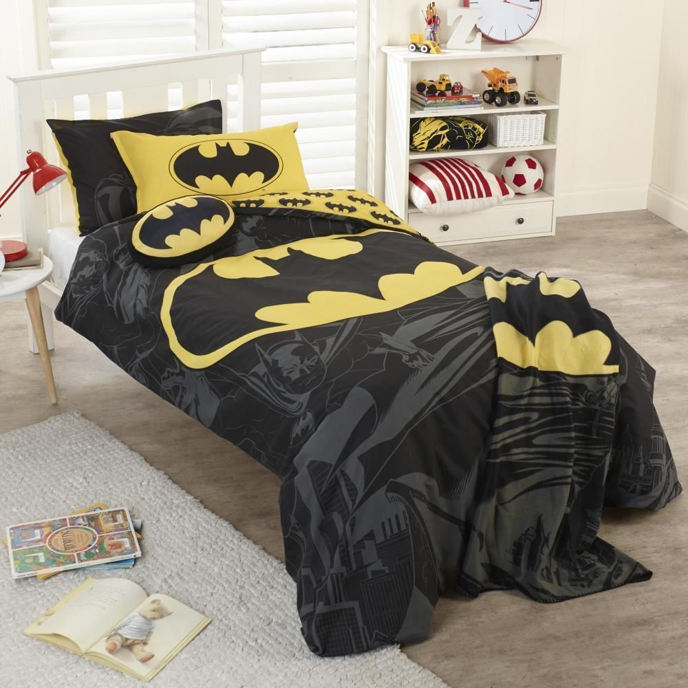 Picture of: Batman Nursery Bedding Style