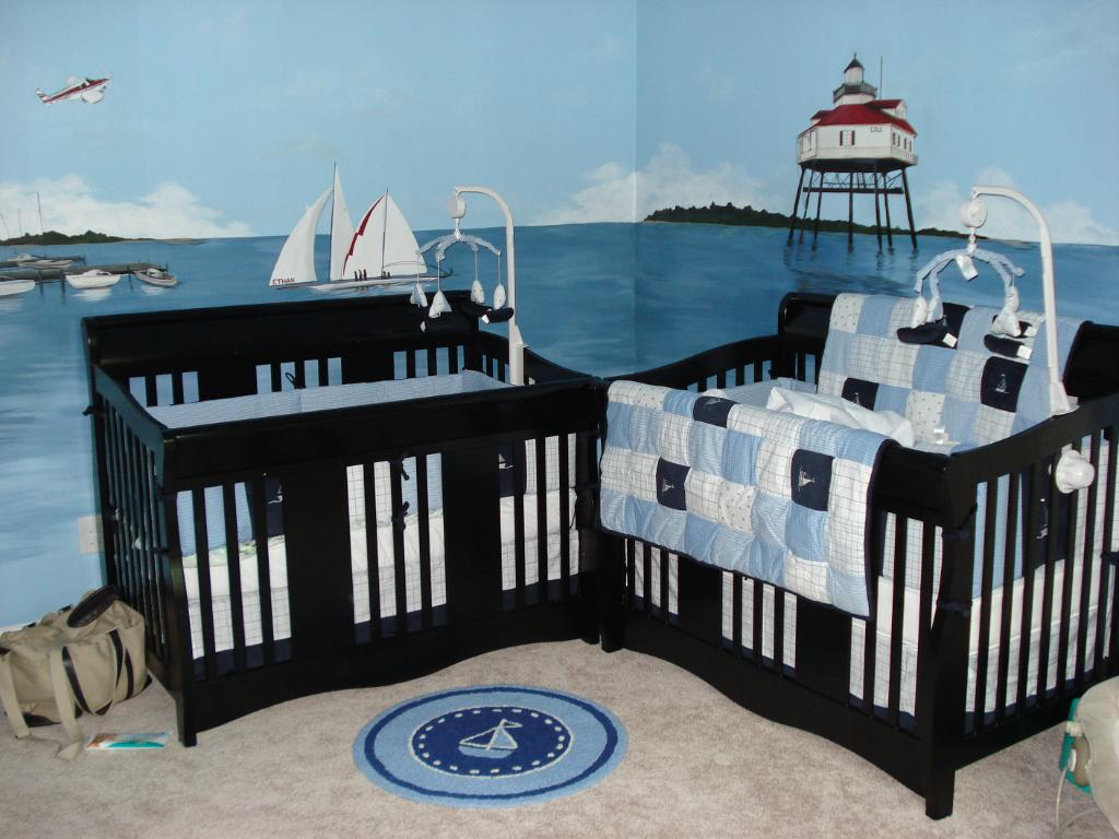 Picture of: Beautiful Nautical Nursery Decor