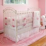 Beautiful Pink Baby Girl Nursery Bedding
