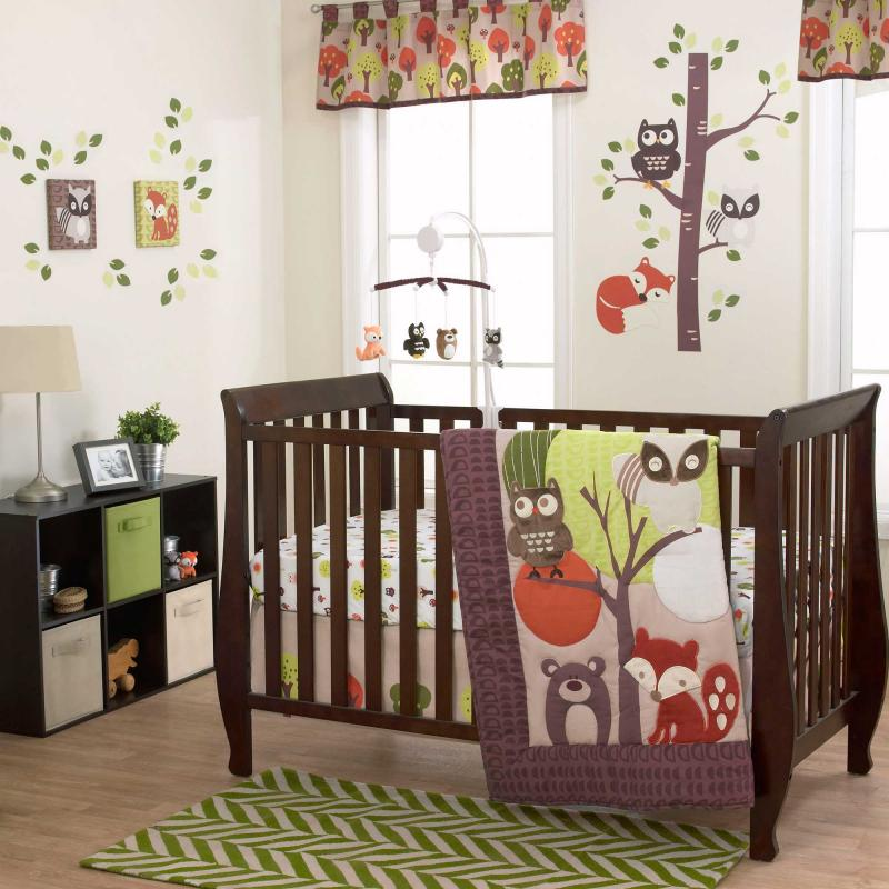 Image of: Beauty Forest Themed Nursery