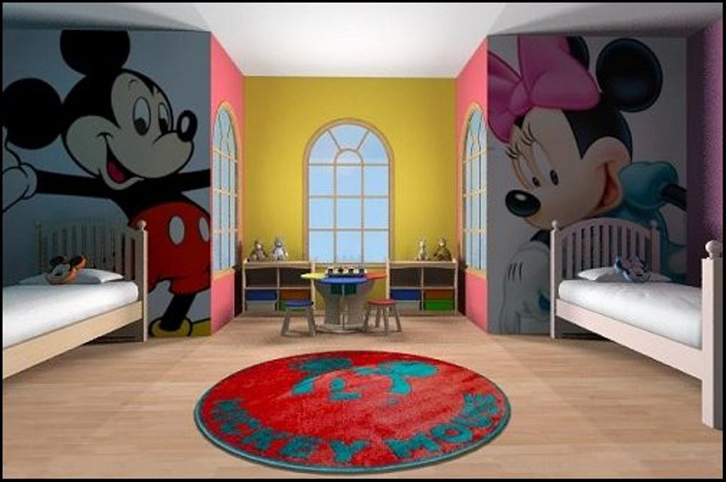 Picture of: Beauty Minnie Mouse Nursery