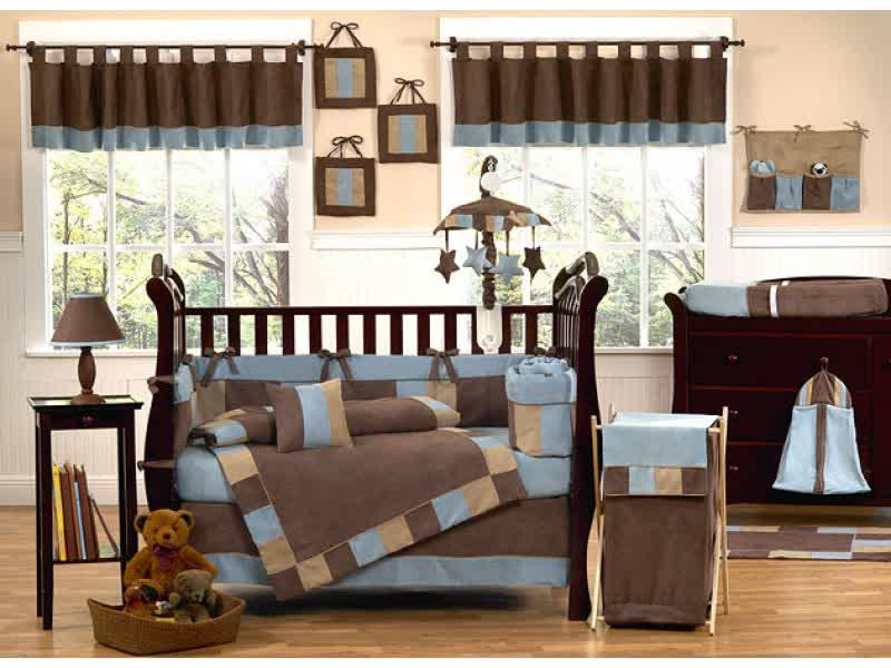 Image of: Best Baby Boy Nursery Bedding