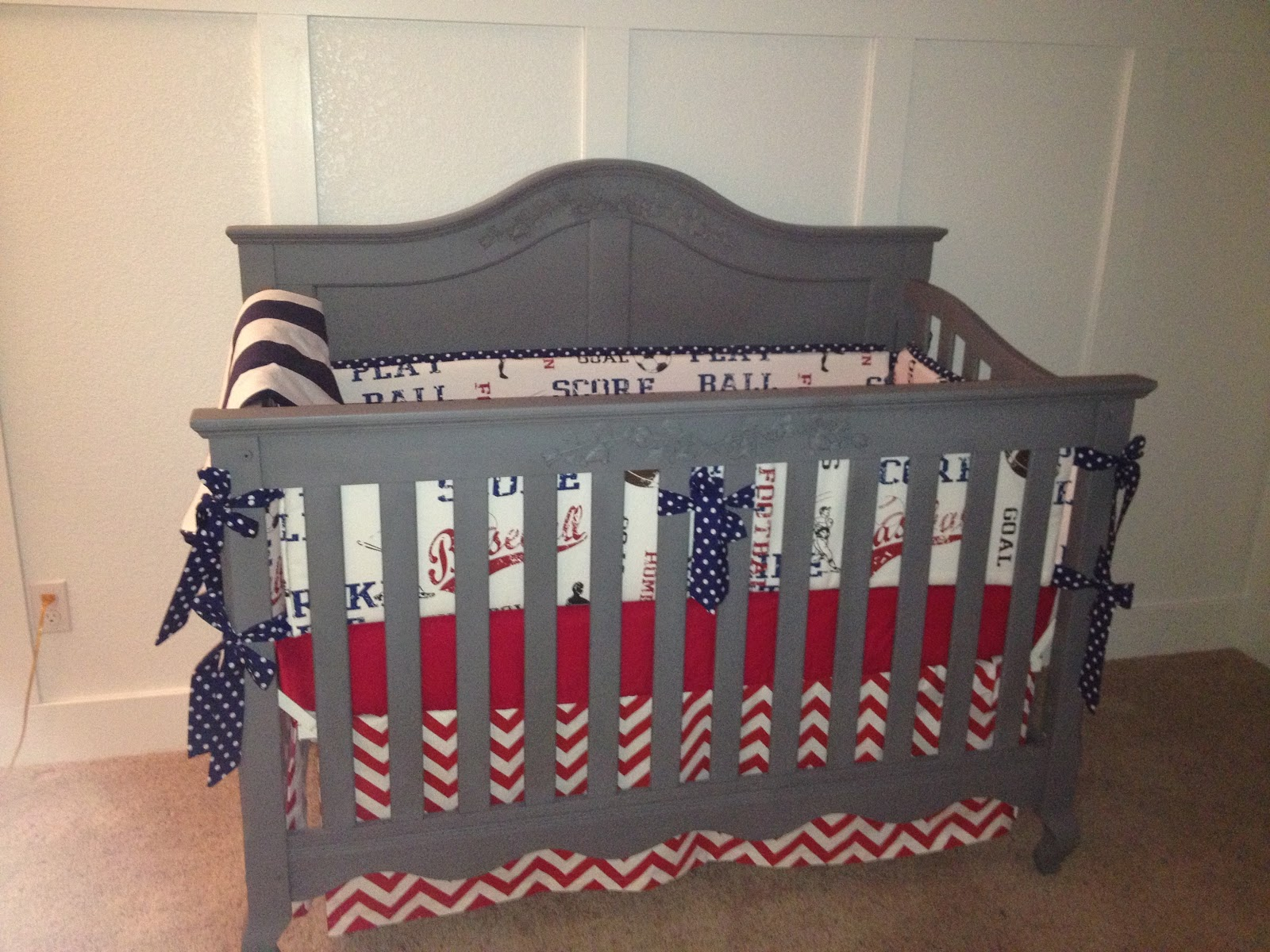 Picture of: Best Baseball Nursery Bedding